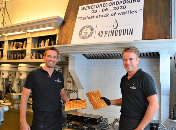Broers Michel en Francis uit Blankenberge op scherp voor wereldrecord hoogste wafeltoren