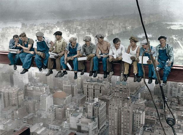 Ces photos qui racontent l'histoire des Etats-Unis: l'ivresse des hauteurs
