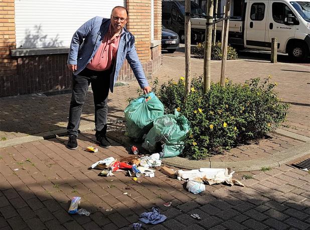 Blankenberge schrijft GAS-boetes uit voor te vroeg buitenplaatsen afvalzakken