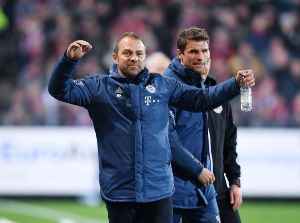 Bayern München gaat verder met Hansi Flick