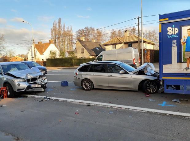 Ernstig ongeval langs Oostlaan in Ardooie