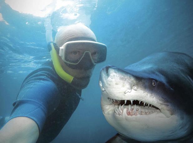 Alles voor een selfie!