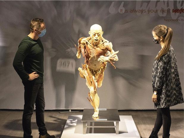 Real Bodies in Sportpaleis Antwerpen
