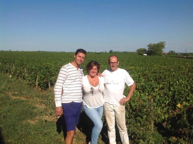 """Gaby Delanghe is kind aan huis op wijndomein Bohrmann: """"Wijn maken is zeer boeiend, topwijn leren kennen ook"""""""