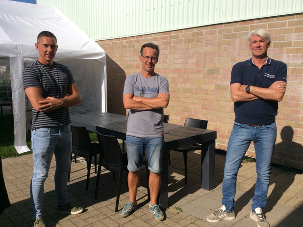 Racing Club Gent van Blankenbergenaar Jannes Tant bekert tegen... KSC Blankenberge