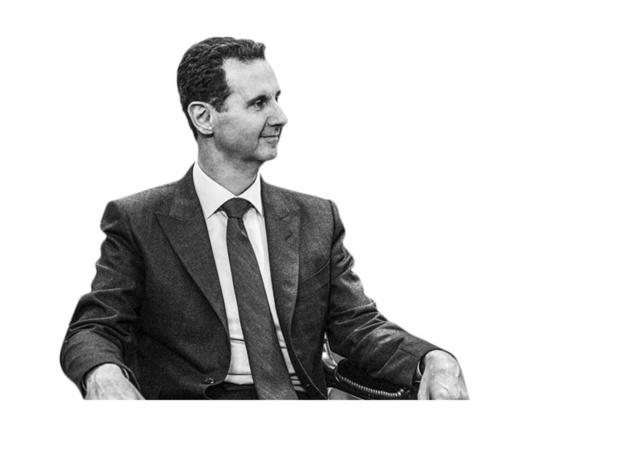 Bashar al-Assad - Behaalt monsterscore