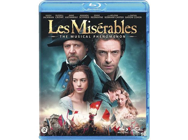 5x blu-ray Les misérables