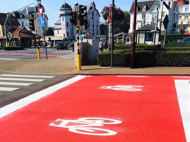 Heel wat openbare werken gepland in De Haan met oog op fietsveiligheid