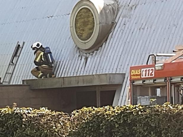 Brandweer rukt uit voor brandje in Ruiselede