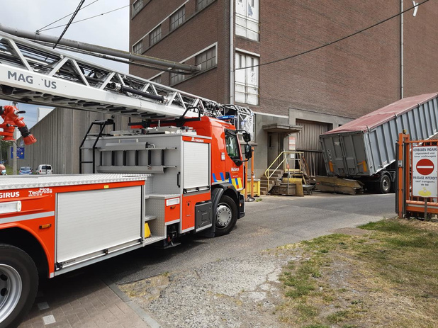 Brandje bij Soubry in Roeselare is snel onder controle