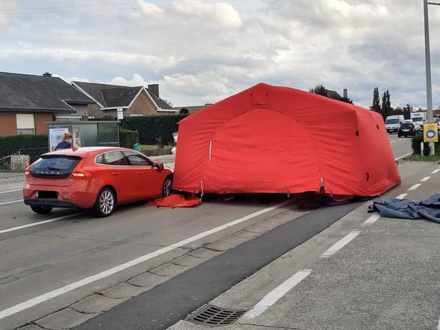 Ongeval aan Euro Shop te wijten aan te late reactie bestuurder, bejaarde vrouw zwaargewond