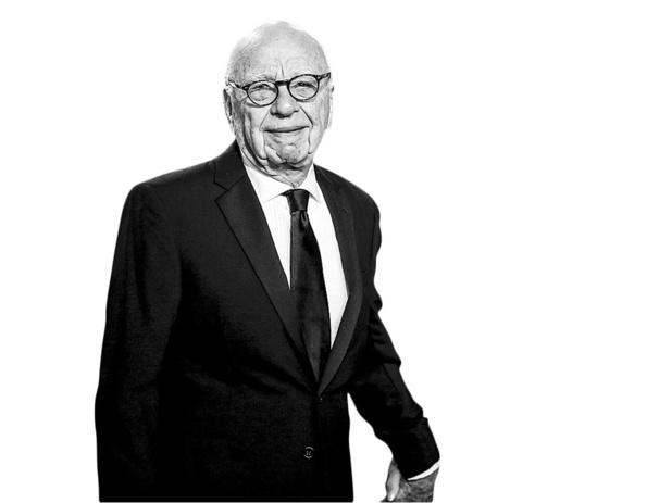 Rupert Murdoch -Dwingt big tech op de knieën