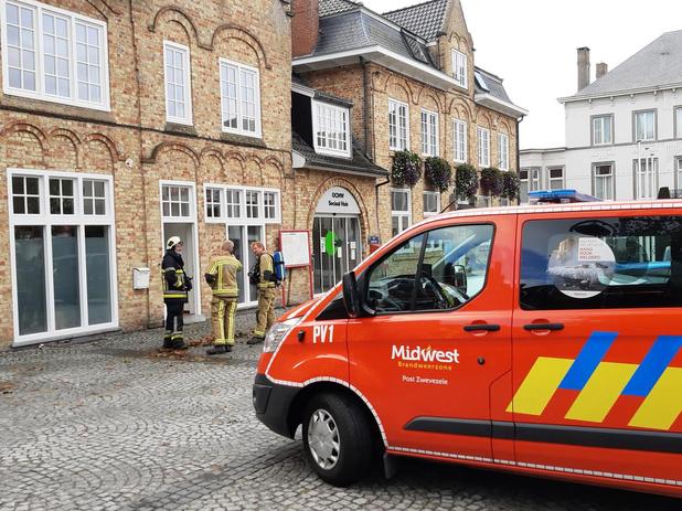 Brandweer rukt uit voor gasgeur maar moet niet ingrijpen