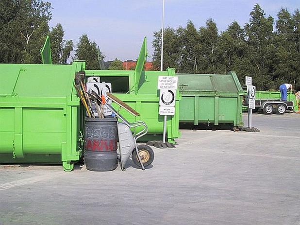 Containerpark Blankenberge blijft voorlopig open