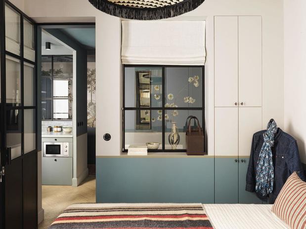 Défi de taille: à Paris, un appartement XXS plein d'astuces