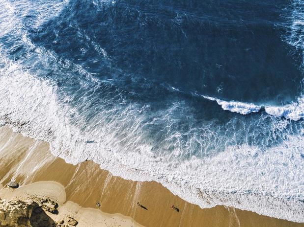 Verdwijnend zand