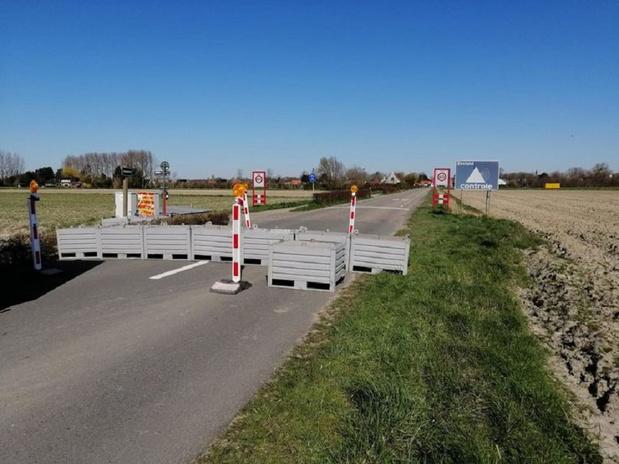 Nu ook grensblokkades tussen Knokke en Sluis