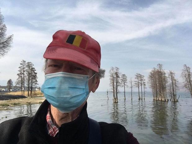 """Waregemnaar Jan de Cock zit in lockdown in China: """"Grootste leed in Dali is geleden"""""""