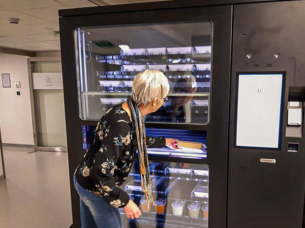 Kuurns familiebedrijf Kjure zet in op foodautomaten in de zorgsector