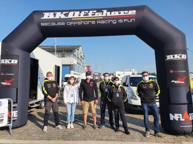 Zeebrugge decor voor finale BK Offshore