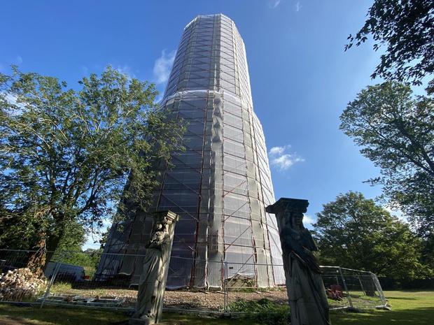 Restauratie van de watertoren aan Mercatorlaan van start