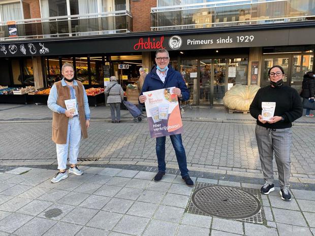 Geert De Lombaerde uit Oostende brengt eigen ontbijtgranen uit