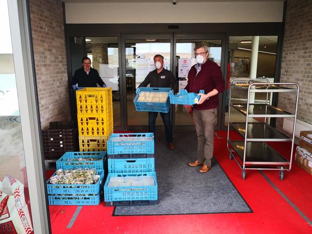 Carrefour vraagt zijn klanten producten te doneren voor Feed The Nurses