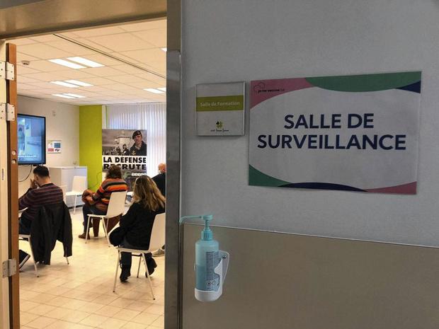 """Ouverture d'un centre de vaccination """"itinérant"""" à Saint-Vincent"""