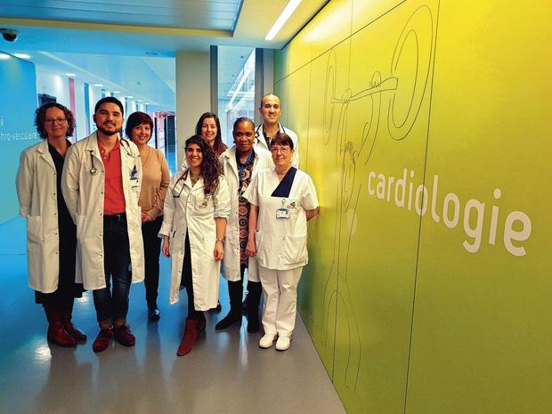 Une app pour un meilleur suivi des insuffisants cardiaques made in Charleroi