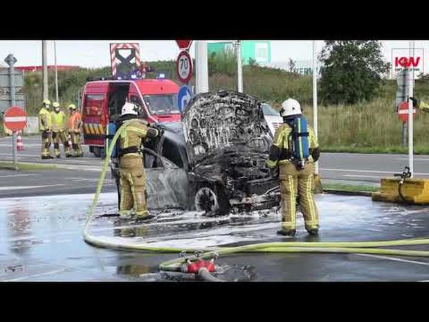 Autobrand Kortrijk
