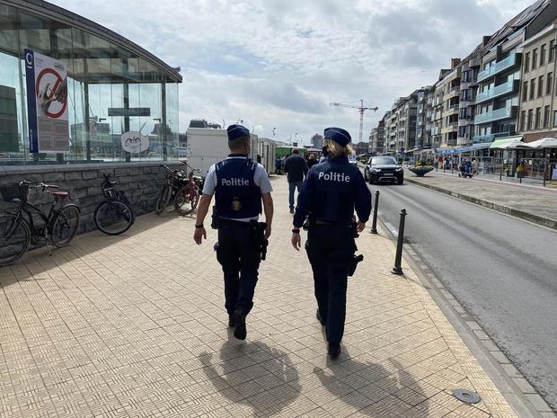 Politie van Oostende schrijft meer dan 70 pv's uit voor mensen die mondmasker niet dragen