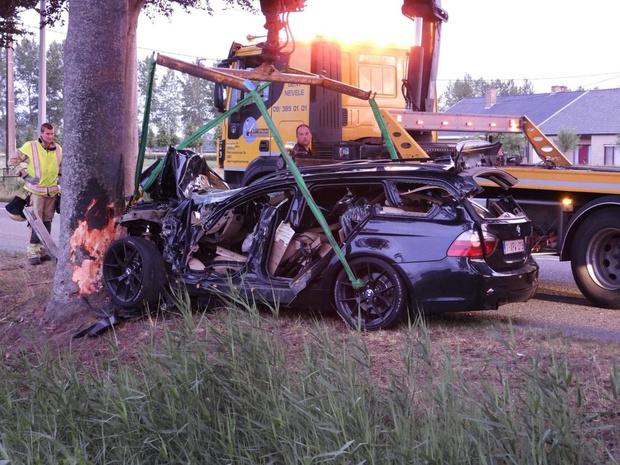 Zwaar ongeval op N49