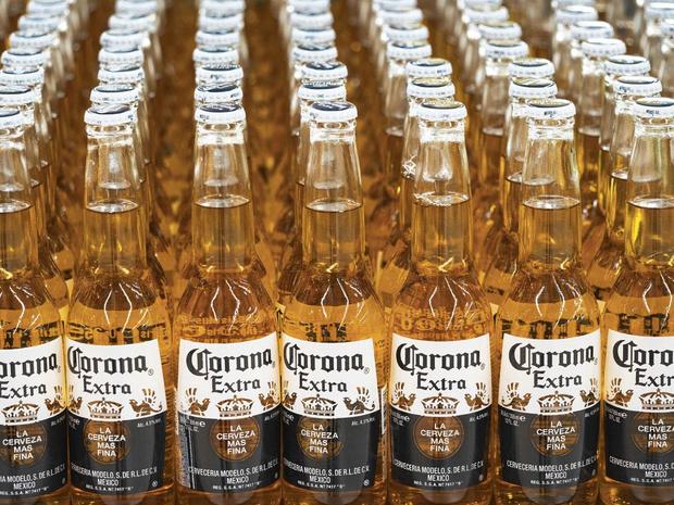 Effet Corona pour AB InBev