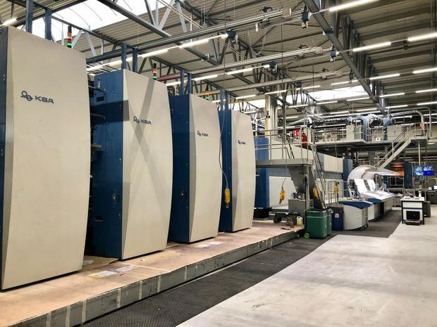 Nouvelle automatisation de presse pour l'imprimerie T'Hooft