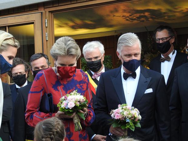 Exclusief: Koning Filip en koningin Mathilde op bezoek bij restaurant Boury in Roeselare