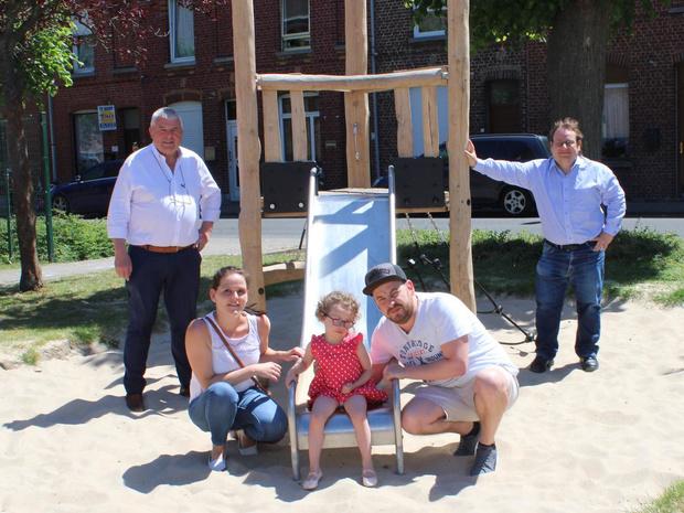 Speelpleintje aan Sint-Jozefsplein in Menen officieel geopend