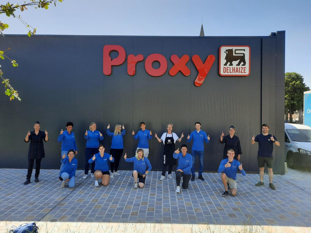 Nieuwe Proxy Delhaize in Langemark geopend