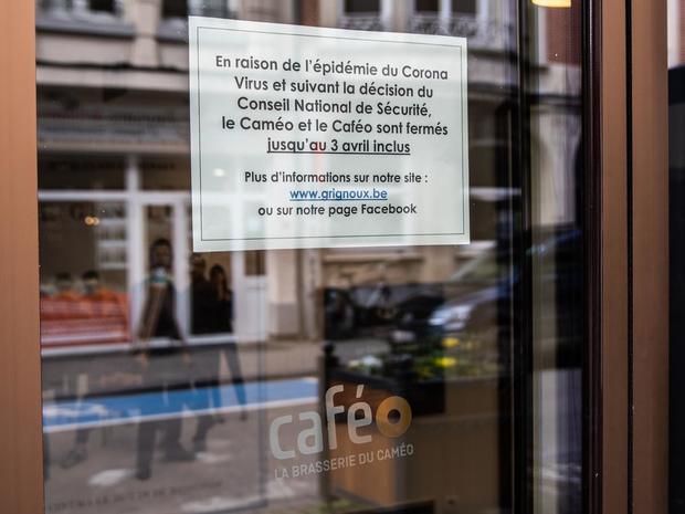 Quatre-vingt-deux nouveaux décès en Belgique en 24h, pour un total de 513