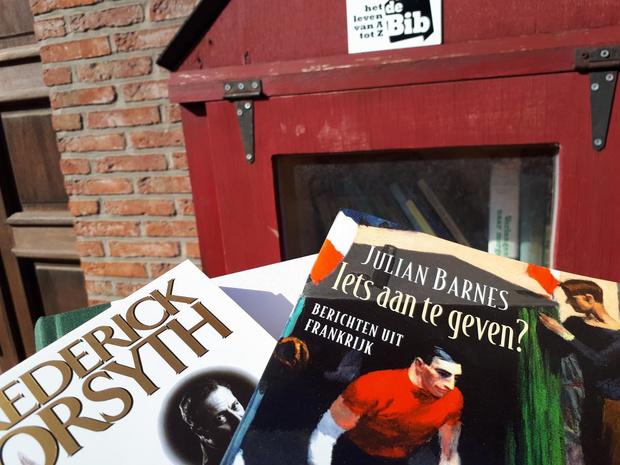 Izegemse boekenruilkastjes bieden soelaas