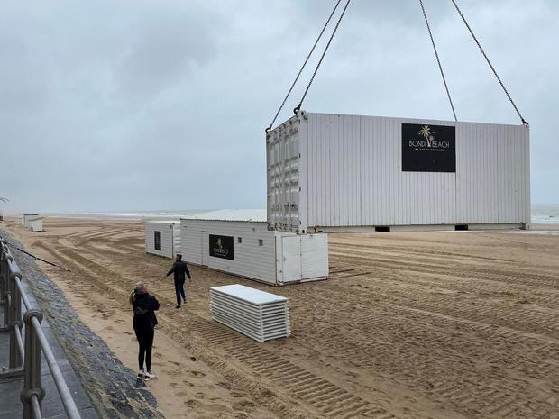 Oostende bereidt zich voor op storm Odette: sportpark en strekdammen afgesloten
