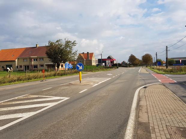 Werken aan Romanestraat in Pollinkhove gestart