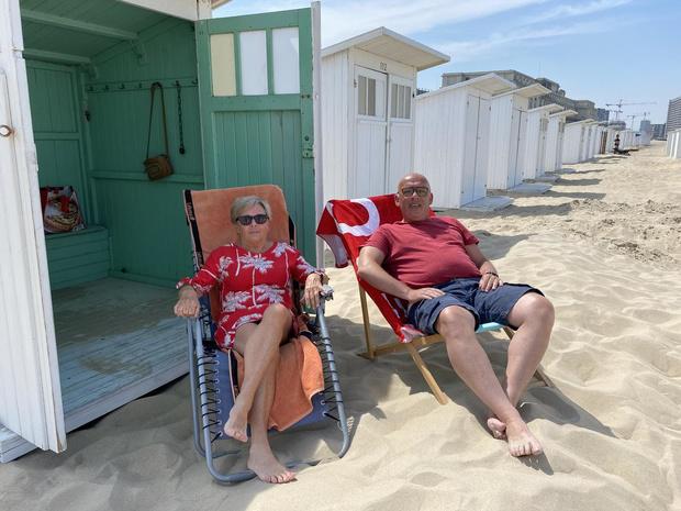 Er is weer leven in de strandcabines aan de kust