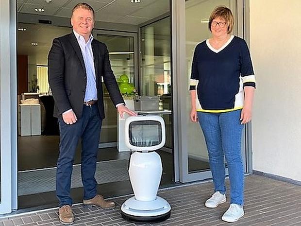 Woonzorgcentrum Riethove krijgt zorgrobot in bruikleen