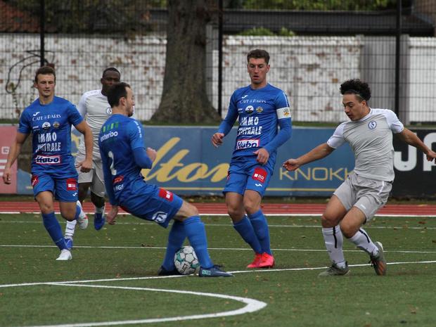 Doeltreffende wissels bezorgen Royal Knokke FC de zege tegen K Rupel Boom FC