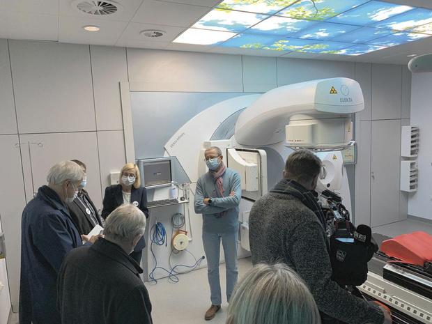 Liège renforce sa radiothérapie par le centre-ville