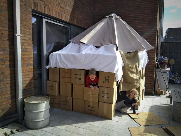 Scouts Lauwe gaan iedere dag online met TikTok-opdrachten
