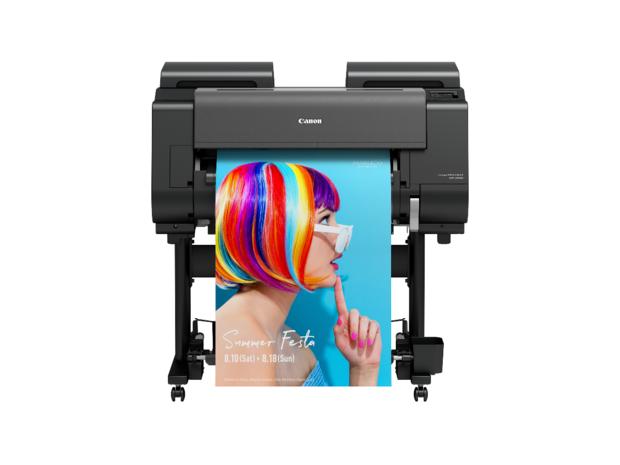 Canon lance de nouvelles imprimantes grand format imagePROGRAF