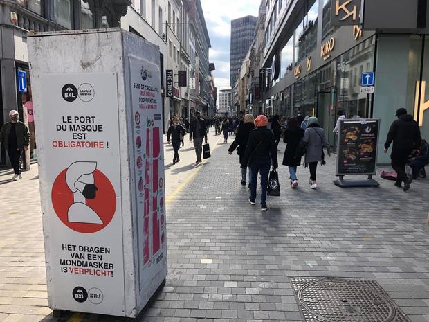 La Belgique a enregistré plus d'un million d'infections au Covid-19