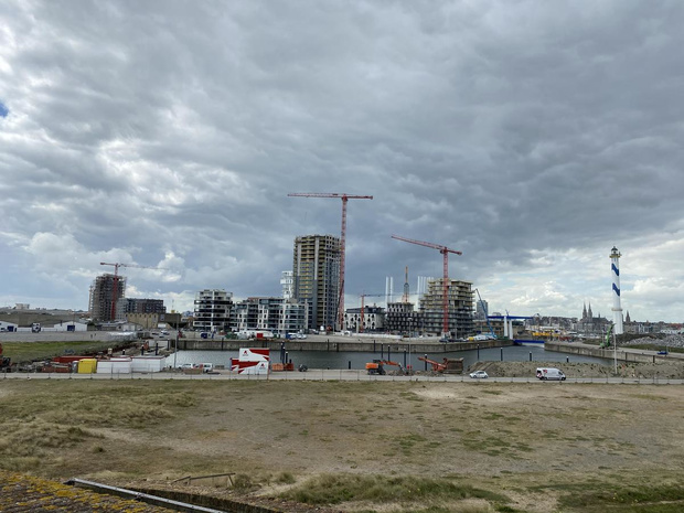 Hendrik Baelskaai op Oosteroever wordt deels blauwe zone
