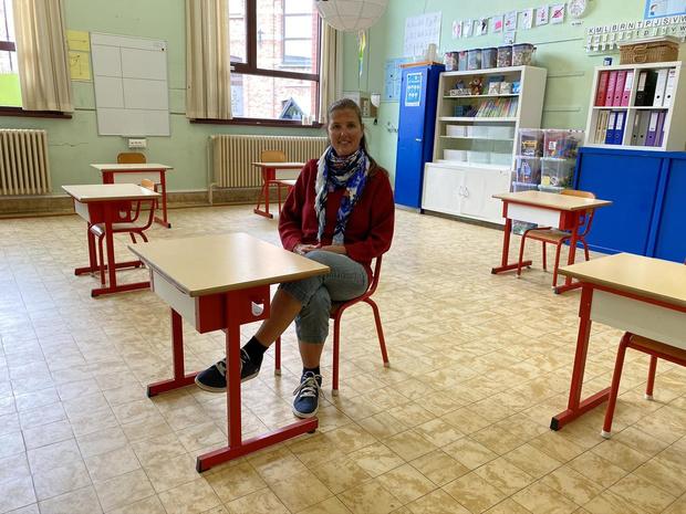 """Hendrik Conscienceschool draait proef met het zesde leerjaar: """"School van kop tot teen ontsmet"""""""